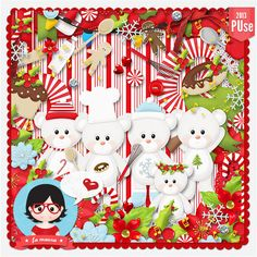 Kit - Candy Christmas by Fa Maura