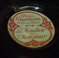 Vintage Guerlain Mouchoir De Monsieur 1927-1930 Sealed 80ml