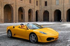 Ferrari F430 F1 Spider.  Imagine an F1 car with all its power and cabrio. That's become a unique experience.