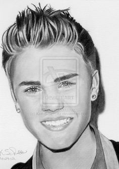 Justin Bieber sketch AGAIN. I just..can't believe my eyes!! This is such a talented sketch!