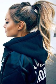 Ponytail Hairstyles Pic 1