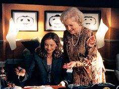 Betty White playing Ally's therapist!