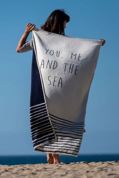Autumn blankets #blankets #autumnblankets  #recycledblankets #recycledcotton #youmeandthesea #bedblanket #beachblanket #youmeandthesea #surfersagainstsewage #protectouroceans  A superb way to celebrate and protect our seas, our 'You, Me and the Sea' limited-edition blankets support our chosen charity, Surfers Against Sewage. A national marine conservation charity based in Cornwall, SAS is a grassroots movement tackling plastic pollution and the numerous challenges threatening our oceans. Recycled Blankets, Cotton Blankets, Sea Spray, Marine Conservation, Recycled T Shirts, Plastic Pollution, Travel Set, Beach Blanket, Cornwall