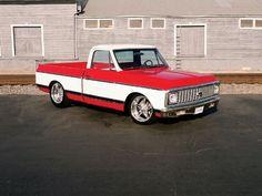1972 custom trucks | 1972 Chevy Truck Lowered Truck Photo 3