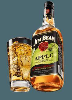 Jim Beam® Apple: Kentucky Straight Bourbon Whiskey.   Jim Beam®