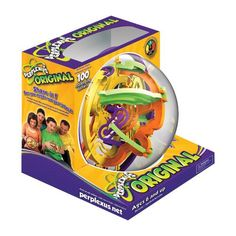 FEATURED Perplexus Maze Game by PlaSmart, Inc. A maze game where players must maneuver a small marble around challenging barriers inside a transparent Christmas Gifts For Girls, Christmas Fun, Gifts For Kids, Holiday Gifts, Amazon Christmas, Christmas Things, 6 Year Old Boy, Maze Puzzles, Maze Game
