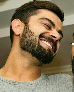 Anushka Sharma Virat Kohli, Virat And Anushka, Virat Kohli Beard, Virat Kohli Quotes, Virat Kohli Instagram, Make My Day, Virat Kohli Wallpapers, Ms Dhoni Photos, Beard Look