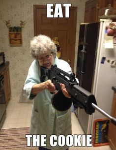 Tastefully Offensive on Tumblr, Whenever I visit grandma. [x]