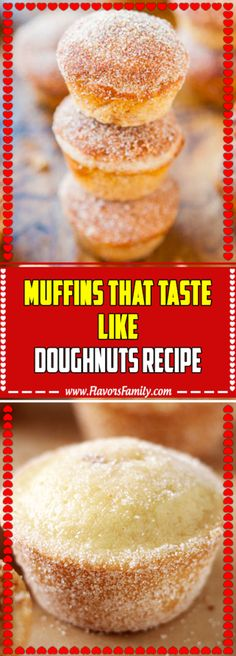 17 New Ideas For Desserts Light Muffins Quick Easy Desserts, Easy Cookie Recipes, Donut Recipes, Ww Recipes, Easy Meals, Cooking Recipes, Healthy Recipes, Light Recipes, Recipies