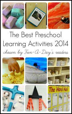 The best preschool learning activities of 2014!