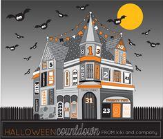 Halloween count down FREE printable