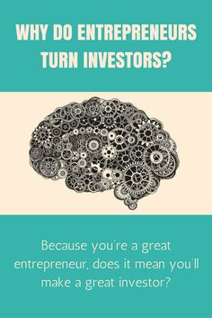 Just because you're a great #entrepreneur doesn't mean you'll make a great #investor. Gallup research (2,500 entrepreneurs studied) shows that certain behavioral traits are shared among top #entrepreneurs - but the skill set that makes an individual a powerhouse when it comes to building a company isn't the same as what makes a profitable investor. But why do entrepreneurs turn investors?