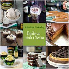 8 Recipes Featuring Bailey's Irish Cream