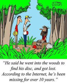 Disc Golf Humor