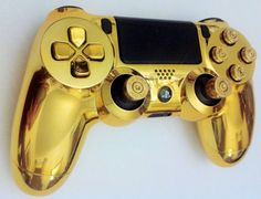 Sony PlayStation 4 Wireless Custom by firezoneproinc on Etsy Cool Ps4 Controllers, Ps4 Controller Custom, Manette Xbox One, Bullet Button, Mundo Dos Games, Game Wallpaper Iphone, Gaming Room Setup, Electronic Shop, Video Game Rooms