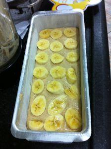 bolo de banana sem farinha e sem açucar