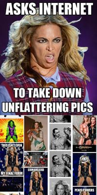 Unflattering Beyonce: Image Gallery (Sorted by Score) | Know Your Meme