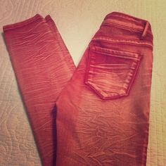 MUST GO ‼️‼️Red Skinny Jeans Delia's red skinny jeans Delia's Jeans Skinny