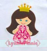 Princess with Crown  Lynnie Pinnie