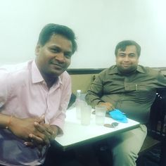 Networking with Shantanu the Bijali Bachau guy in our #BNI group in #Juhu