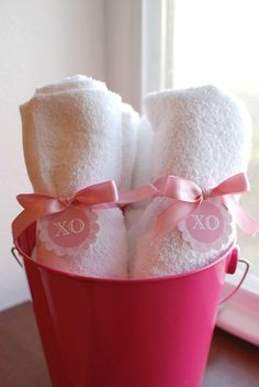 Actually for a Spa Party....so cute!
