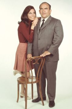 Mary Tyler Moore; I can relate so much to her