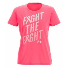 Under Armour Women's PIP Fight the Fight T-shirt