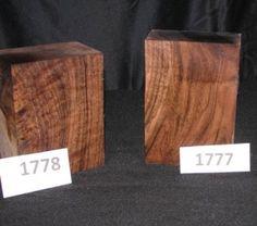 Claro Walnut burl & fancy turning blanks,tb1777-tb1778 online at www.farwestforest.com