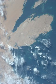 Qatar. Taken July 6, 2013.  KN from space.