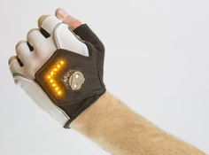 Zackees+Turn+Signal+Gloves+Are+A+Bright+Biking+Idea+   ---  from InventorSpot.com --- for the coolest new products and wackiest inventions.
