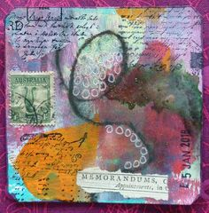 Frieda Oxenham: Art Card 1