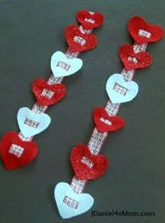 Fine Motor Threading Activity for Valentine's Day