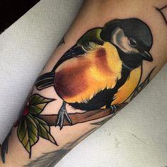 Birdfiller tack Elin @lundbergcustom @revolutionneedles @tattoocyn @fkirons