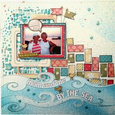 Little Scraps of Magic: Mom and Me, By the Sea {CSI Case File No. 91}