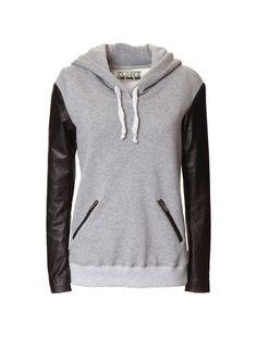 Empyre Larissa Charcoal & Blackberry Tribal Hoodie | I love ...