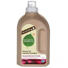 4X Concentrated Geranium & Vanilla Liquid Laundry Detergent (50 fl oz) from Seventh Generation