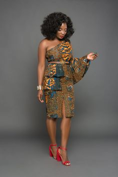 These classy Ankara styles will make you locate your tailor; if you want to turn heads at the next event you attend, then you need these Ankara styles to make a difference African Fashion Designers, African Inspired Fashion, African Print Fashion, Africa Fashion, Ethnic Fashion, African Print Dresses, African Fashion Dresses, African Dress, African Prints