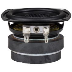 The CE65W-8 from Dayton Audio is an economical compact extended-range woofer that excels in a variety of small music-oriented audio systems. It features an economical ferrite magnet motor assembly with shielding magnet, a woven glass fiber cone, and a rubber surround. http://www.daytonaudio.com/index.php/ce65w-8-2-1-2-shielded-extended-range-driver-8-ohm.html