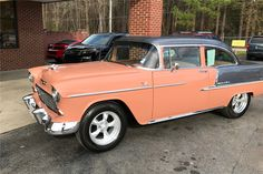 Available* at Palm Beach 2017 - Lot #355 1955 CHEVROLET BEL AIR CUSTOM TWO-DOOR POST