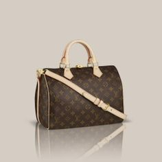 b16128888 LOUISVUITTON.COM - Speedy Bandoulière 30 Monogram Canvas Handbags Couro  Legítimo, Monograma, Bolsa