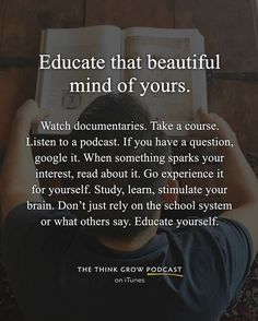 Listen to: The Think Grow Podcast with Ruben Chavez quotes quotes about life quotes about love quotes for teens quotes for work quotes god quotes motivation Motivacional Quotes, Wisdom Quotes, True Quotes, Words Quotes, Quotes To Live By, Sayings, Qoutes, Faith Quotes, Study Motivation Quotes