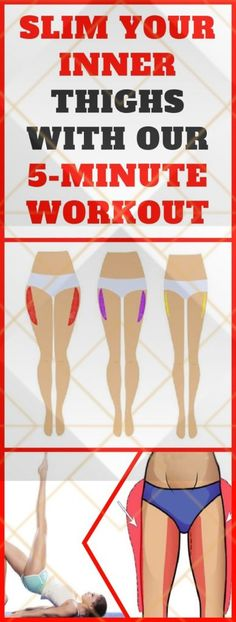 your inner thighs is just as important as working your core and upper body. Inner thigh workouts can actually help you improve your core strength since your legs act as support for your entire core and upper body. Thigh Toning Exercises, Toning Workouts, Thigh Workouts, Pilates Workout, Side Fat Workout, Flat Tummy Workout, Reduce Belly Fat, Lose Belly Fat, Before Bed Workout