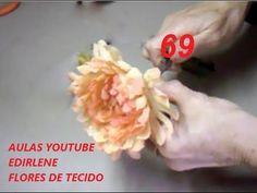 AULA 69: CRISÂTEMO PARA ROUPAS DE FESTAS (com tingimento) - YouTube