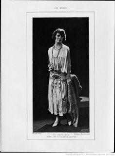 Modes (Paris) 1924  Habillee par Jeanne Lanvin