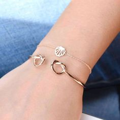 Coquillage Rose Gold Bracelet