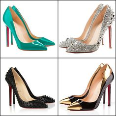Louboutin Pointed Toe Heels ♥