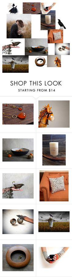 """Autumn Romance II"" by dorataya ❤ liked on Polyvore featuring interior, interiors, interior design, home, home decor, interior decorating, october, dorataya, laughingdog and AutumnSplash"