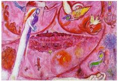 "Angel Espionage: Marc Chagall - ""Song of Songs III"" 1960"