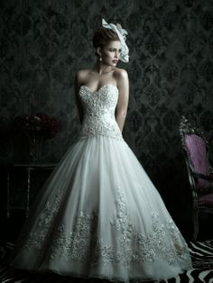 Dream dresses by Allure Couture Bridal Collection | Just a pretty bride