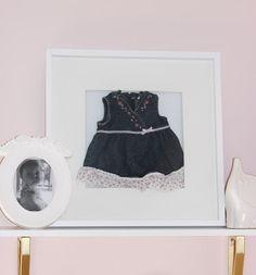 Online Interior Design: Baby Memorabilia as Art